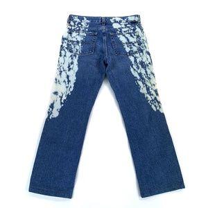 Vtg Tommy Jeans Paint Splatter Jeans 7 (30 x 27)